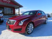 Options:  2013 Cadillac Ats Navigation! Bose Audio!