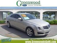 New Arrival! This 2013 Cadillac ATS 2.0T Luxury will
