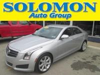 THIS 2009 CADILLAC ATS LUXURY FEATURES A 2.5L I-4,