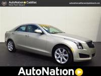 2013 CADILLAC ATS SEDAN, LOCATED IN WEST PALM BEACH