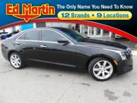 New Price! 2013 Cadillac ATS 2.5L Black Raven Clean