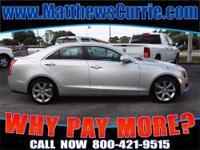 2013 CADILLAC ATS Sedan Our Location is: