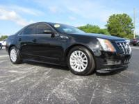 Certified. Black Raven 2013 Cadillac CTS Luxury RWD