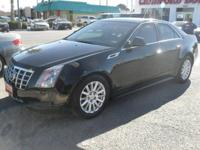 Look at this 2013 Cadillac CTS Sedan Luxury. It has an