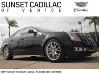One owner CTS with a Clean Carfax. Backup Camera,