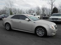 This outstanding example of a 2013 Cadillac CTS Sedan