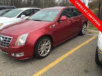 2013 Cadillac CTS Premium in Crystal Red Tintcoat. 18