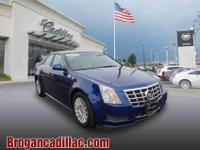 Enjoy the open road in this 2013 Cadillac CTS 3.0L