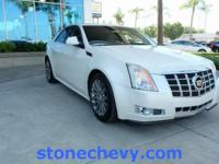 Clean CARFAX. 2013 Cadillac CTS Performance 6-Speed