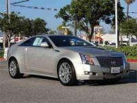 1 owner and Clean Autocheck. CTS Premium and Silver.