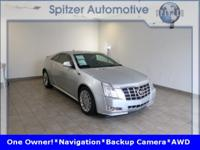 Cadillac CTS Premium CARFAX One-Owner. Clean CARFAX.