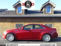 2013 CADILLAC CTS SEDAN 4 DOOR 3.0L V6 RWD Luxury Our