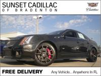 This CTS-V has less than 23k miles!! New In Stock...