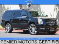 Options:  2013 Cadillac Escalade Esv Premium Black 6.2L