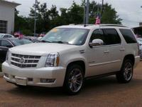 Options:  2013 Cadillac Escalade Premium|White Diamond