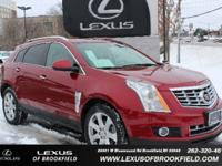 **2013 CADILLAC SRX** **PERFORMANCE** **NAVIGATION**