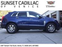 2013 Cadillac SRX Luxury Collection. Xenon Blue
