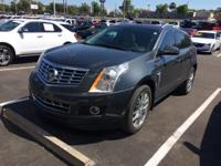 This 2013 Cadillac SRX in Gray Flannel Metallic