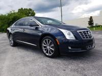 Sapphire Blue 2013 Cadillac XTS FWD 6-Speed Automatic