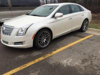 2013 Cadillac XTS Platinum in White and GM Certified.