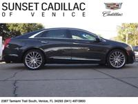 Top of the line Cadillac XTS Platinum Collection with