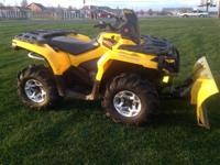 2013 CAN-AM Outlander 500 4x4 DPS - 500cc liquid cooled