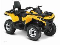 Year: 2013 Condition: New Can-Am Outlander MAX 800 DPS