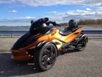 2013 Can Am Spyder RSS SE5 (Automatic) -680 miles.This