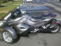 Can - Am only has 998 miles on it. It is in terrific