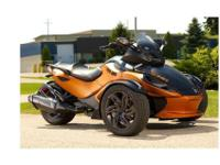 2013 Can-Am Spyder RS-S SE5, 2013 Can-Am Spyder Take
