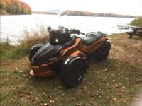 2013 Can Am Spyder-RSS SE5 automatic w/ reverse, ABS