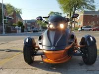 2013 Can am spyder (NO RESERVE) great condition with