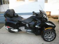 2013 Can-Am Spyder RT Limited 8326 MILES  Original