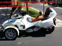 2013 Can Am Spyder RT Limited SE5 with only 3,700 miles