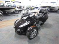 SUPER CLEAN 2013 CAN-AM SPYDER RT LTD SE5 WITH ONLY