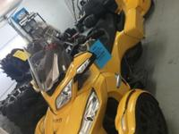 2013 Can Am Spyder RTS SM5 with Trailer Has lots of