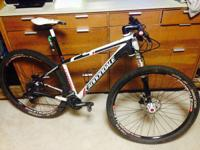2013 Cannondale F29 Carbon 2 with 400 miles on it.