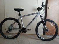 I have a 2013 Cannondale Trail 6 for sale. Its mint. No