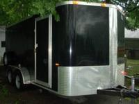 2013 Cargo Craft 16' confined trailer with EXTRAS!
