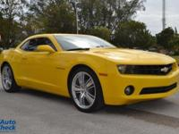 You're looking at a 2013 Chevrolet Camaro 2LS in