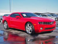 2013 Chevrolet Camaro 2LT Victory Red CARFAX One-Owner.