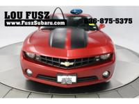 New Price! 2013 Chevrolet Camaro 2LT 2LT Crystal Red