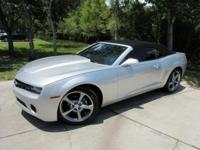 This 2013 Chevrolet Camaro 2dr 2dr Convertible LT with