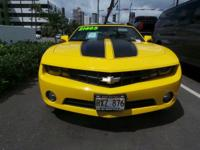 Come see this 2013 Chevrolet Camaro LT. Its Automatic