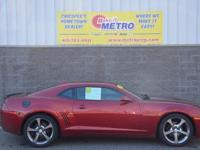 2013 Chevrolet Camaro 1LT  in Crystal Red Tintcoat and