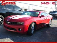 Red 2013 Chevrolet Camaro 1LT RWD 6-Speed Automatic