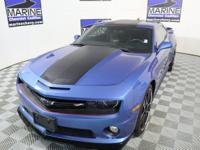 CARFAX One-Owner. Clean CARFAX. Blue 2013 Chevrolet