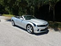 Check out this gently-used 2013 Chevrolet Camaro we