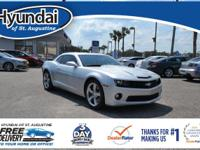 This Camaro features: BACKUP CAMERA!, Bluetooth,