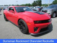 Victory Red 2013 Chevrolet Camaro ZL1 **SEE BOTTOM FOR